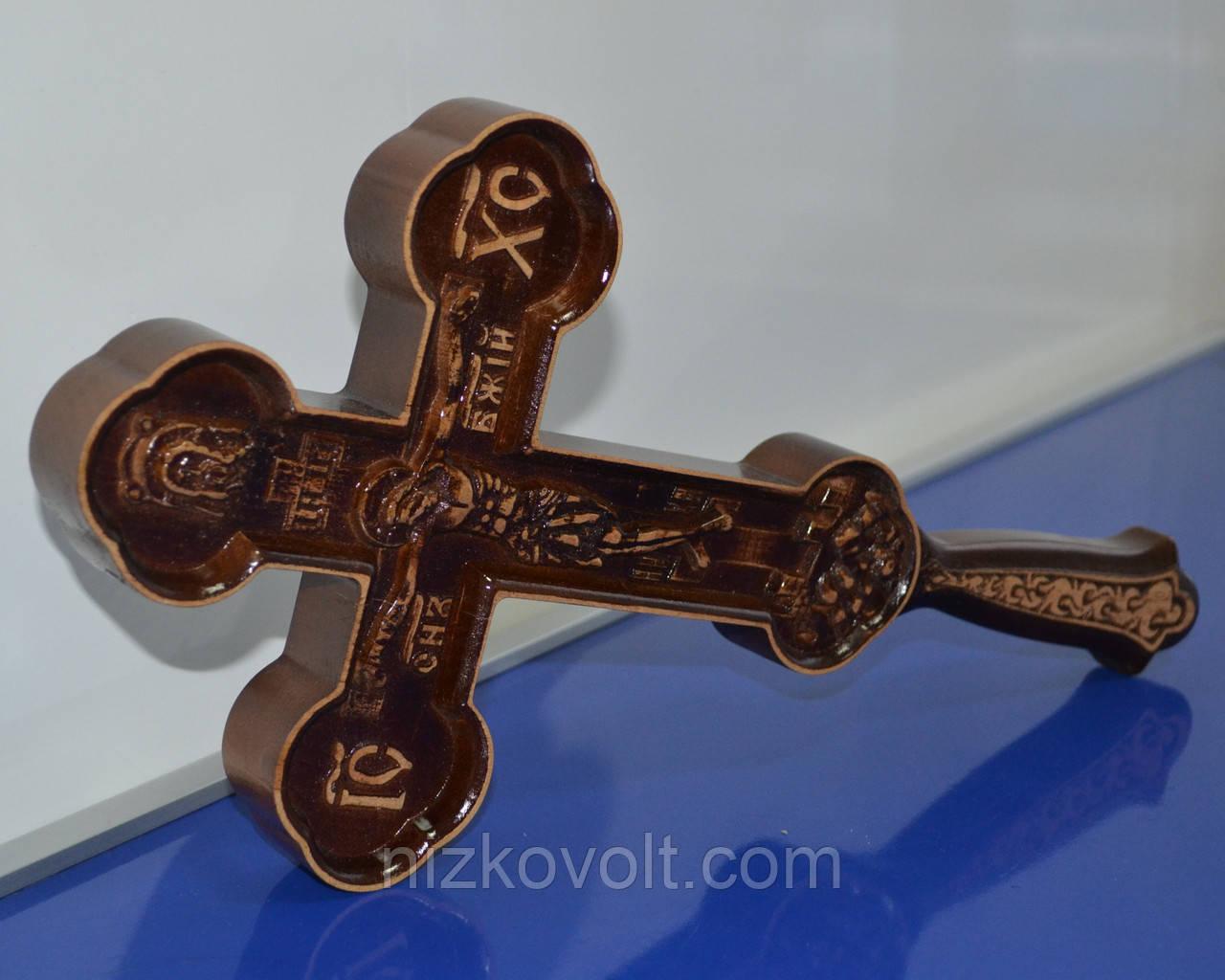 Животворящий крест из дерева (190х395х36 мм)