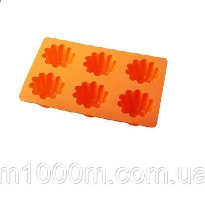 Форма для кекса силикон ЕМ 9825