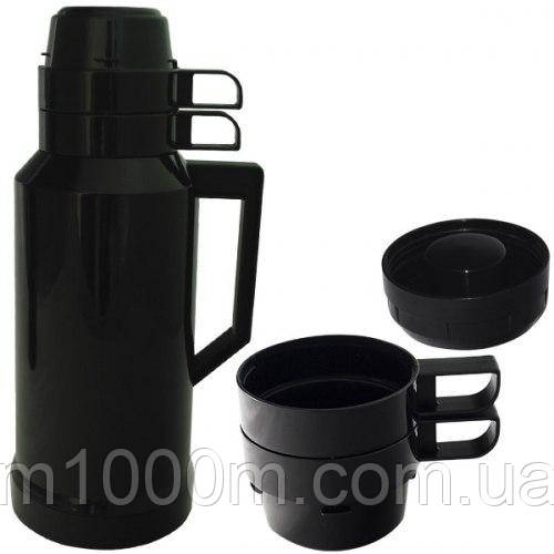 Термос пластмассовый со стеклянной колбой 1800мл 40110