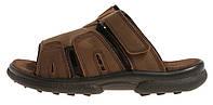 Шлепанцы мужские кожаные коричневые 4Rest USA, Коричневый, 46 , фото 1