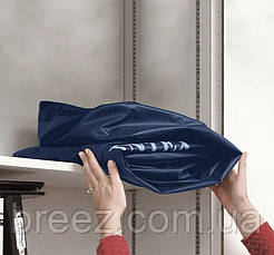 Двуспальный надувной матрас Intex 68759 синий 203 х 152 х 22 см, фото 2