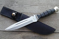 Нож нескладной Коммандос-3, для рыбалки с пластиковой рукояткой, фото 1