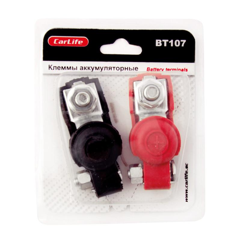Клеммы акумуляторные Carlife BT107