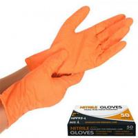 Перчатки нитриловая неопудренные L 50шт/уп NPF95-L (20уп) (МНР015456)