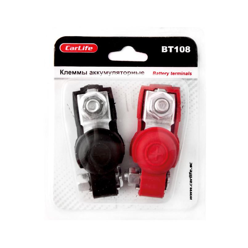 Клеммы акумуляторные Carlife BT108