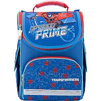 Рюкзак / Ранец / Портфель школьный каркасный Kite 501 Transformers-1