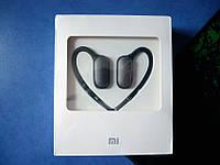 Беспроводные музыкальные наушники Xiaomi для спорта с Bluetooth 4.1 black (черные)