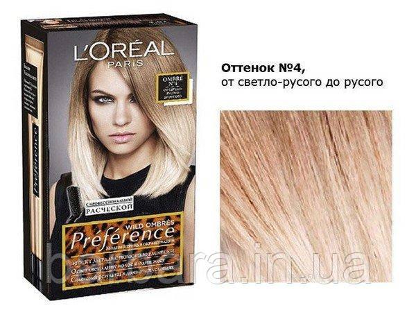 Краска для волос L´Oréal Paris Préférence Wild Ombrés №4