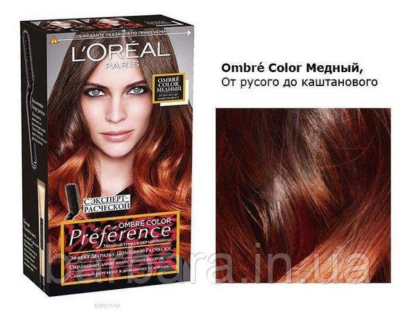 Краска для волос L´Oréal Paris Préférence Wild Ombrés №7.4
