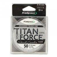 Леска Kalipso Titan Force Leader CL 50м 0.10мм
