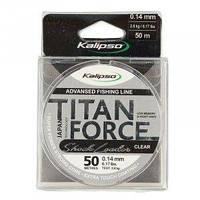 Леска Kalipso Titan Force Leader CL 50м 0.10мм