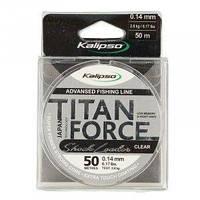 Леска Kalipso Titan Force Leader CL 50м 0.12мм