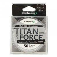 Леска Kalipso Titan Force Leader CL 50м 0.14мм