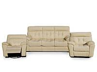 Офисный диван Nicolas Комплект кожаной мебели Монако