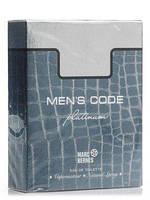 Marc Bernes Men's Code Platinum