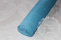 Креп бумага (гофрированная), бирюзовая №556