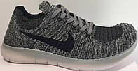 Кроссы найк Nike Free Run Flyknit Grey Wind от магазина tehnolyuks.prom.ua 099-4196944