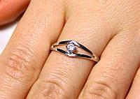 Кольцо серебро 925 проба 17.5 размер АРТ325