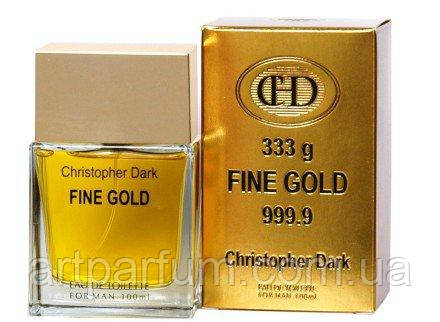 Christopher Dark Fine Gold