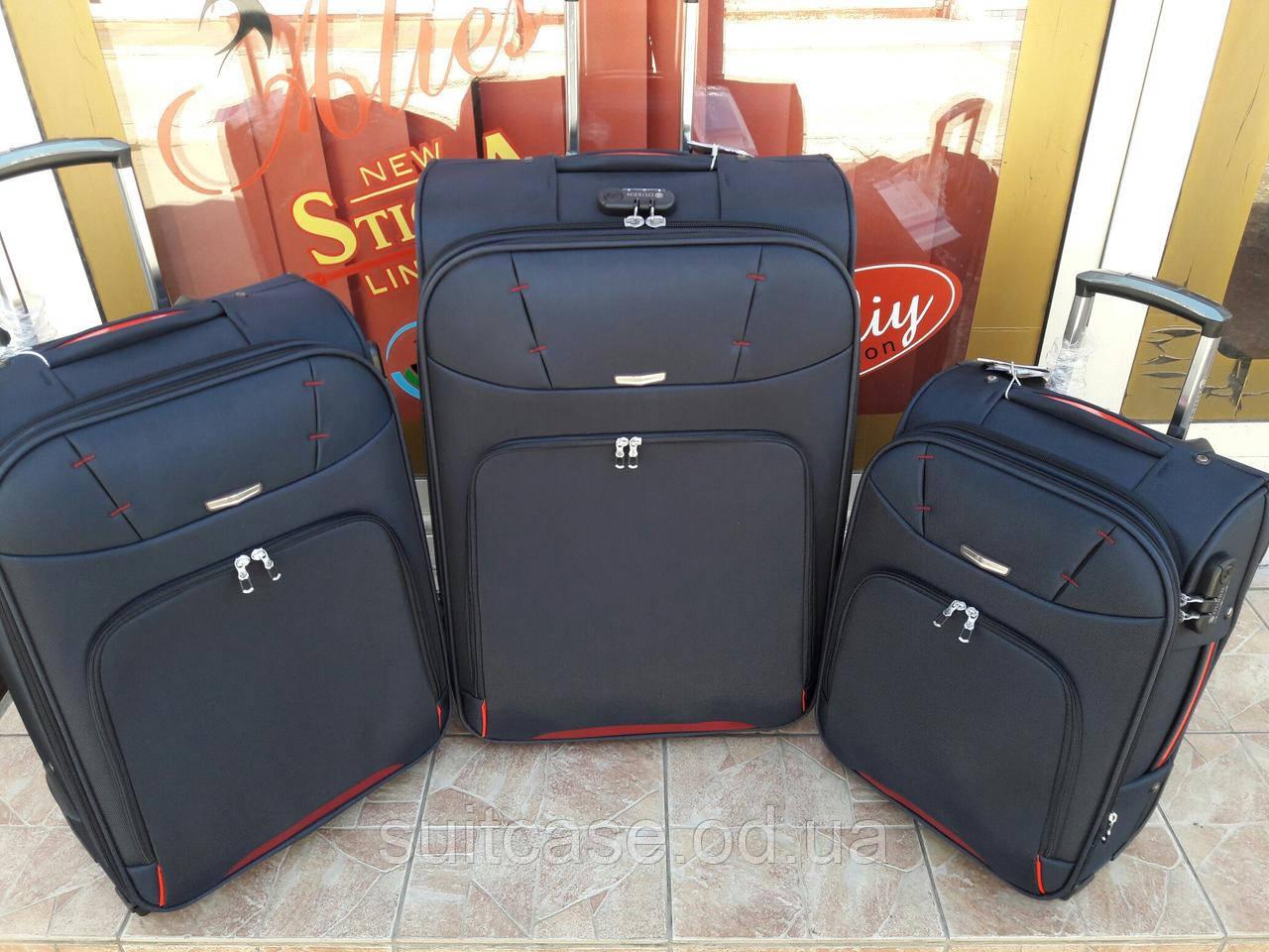 e5a8d800e212 Сверхпрочные чемоданы Premium class Ousen ! синий , Одесса 3-х шт,комплект -