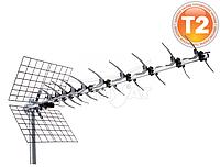Наружная антенна для Т2 тюнера (ресивера) Romsat UHF-43EL DVB-T/Т2
