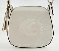 Женская небольшая стильная сумочка LITTLE PIGEON art. F1020 белая