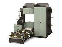 Кровать Тиса-мебель Гарнитур для комнаты подростка  Д-10
