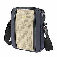 Тканевая сумка через плечо Ferrari, canvas shoulder strap
