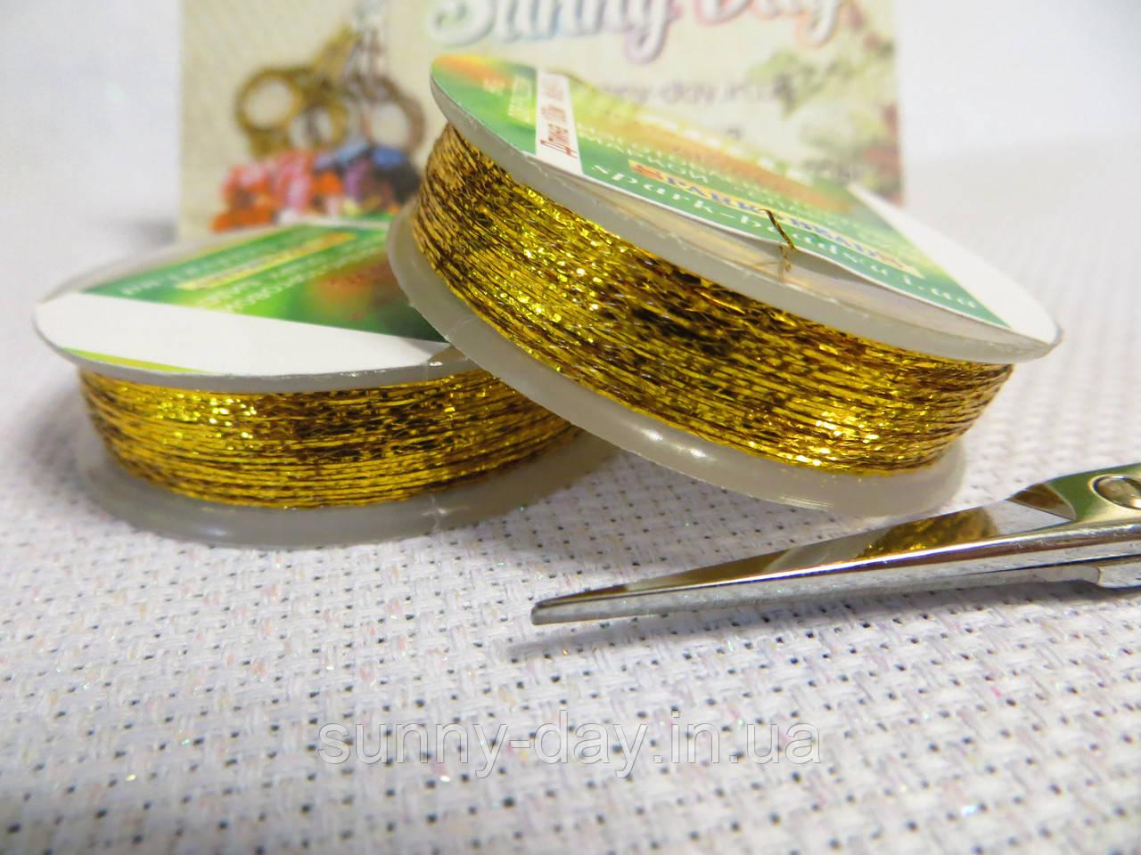 Люрекс ADELE, цвет - яркое золото