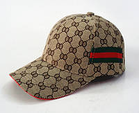 Стильная кепка Gucci бежевый, фото 1
