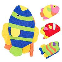 Мочалка перчатка детская Рыбка