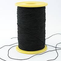 Нитка-резинка, Цвет: Черный, Толщина 0.6мм, около 180м/1катушке, (УТ0003536)