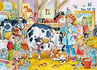 Пазлы Castorland   60шт (06748) 32*23 см (Ветеринар на ферме)
