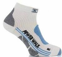 Термоноски женские X-Socks Nordic Walking Lady white/sky blue - 39/41