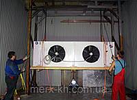 Монтаж холодильных  и морозильных камер.