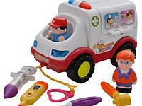 """Игрушка """"Скорая помощь"""" (836), Huile Toys"""