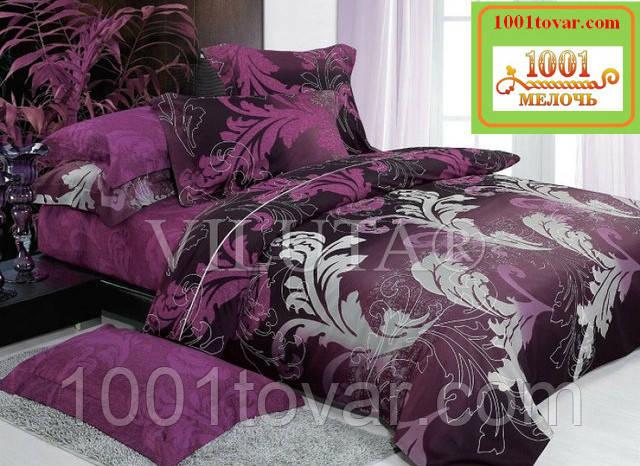Двуспальное постельное бельё Viluta (Вилюта) ранфорс, арт 9949