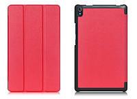 Чехол для планшета Lenovo Tab 3 8 Plus TB-8703X/F (slim case) красный