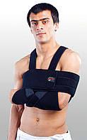 Бандаж для плеча и предплечья сильной фиксации, повязка Дезо РП-6К-М1 Черный,Синий,Серый цвет Размер UNI, ХXL