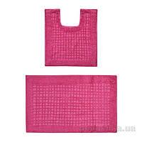 Набор ковриков для ванной ТМ МД розовый