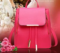 Рюкзак женский swan Гламур розовый