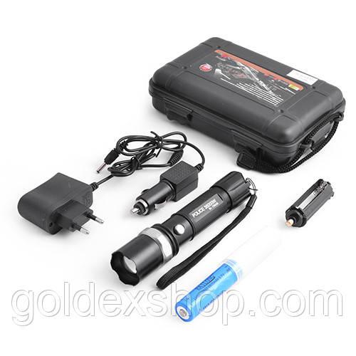 Ліхтар світлодіодний Bailong Police T8626-XPE, акумуляторний