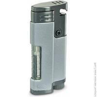 Зажигалка Colibri RELOAD, Матово-серебристый/Оружейная сталь + 2 смен. балончика (Co596003-qtr)