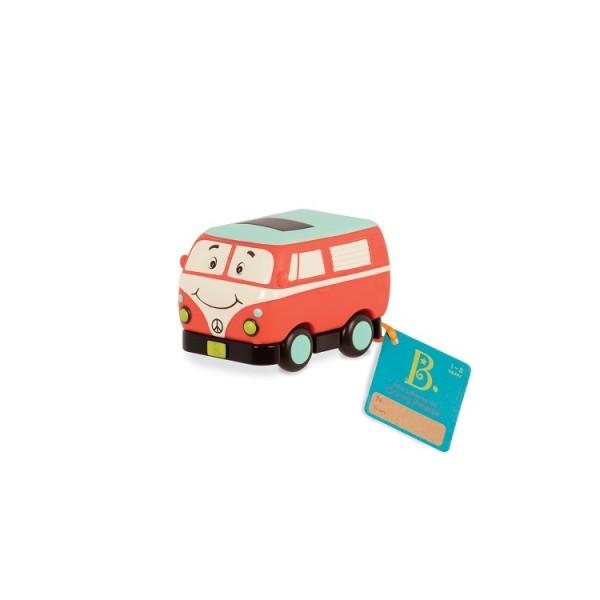 Машинка инерционная серии Забавный автопарк - Ретро автобус   BX1502Z