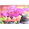 Стеклянная кухонная доска Орхидея (20х30 см)