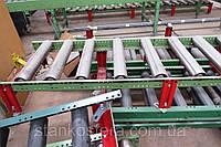 Рольганги неприводные б/у для транспортировки и межоперационного складирования деталей мебели, поддонов паллет