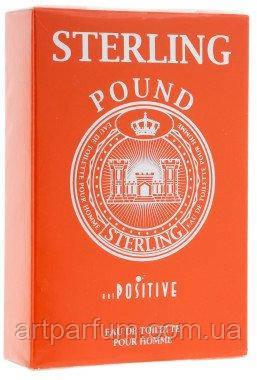 Positive Parfum Sterling Pound