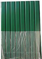 Профнастил ПС-8, Альбатрос цвет: зеленый 1,5м Х 0,95м