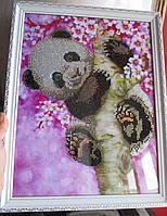 "Картина ""Мишка Панда"" от студии LadyStyle.Biz"