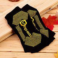 Носки для йоги Yoga Socks черный